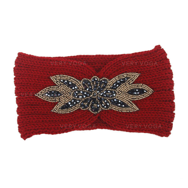 Unique Beautiful Basketwork Fabric With Imitation Crystal Body Jewelry