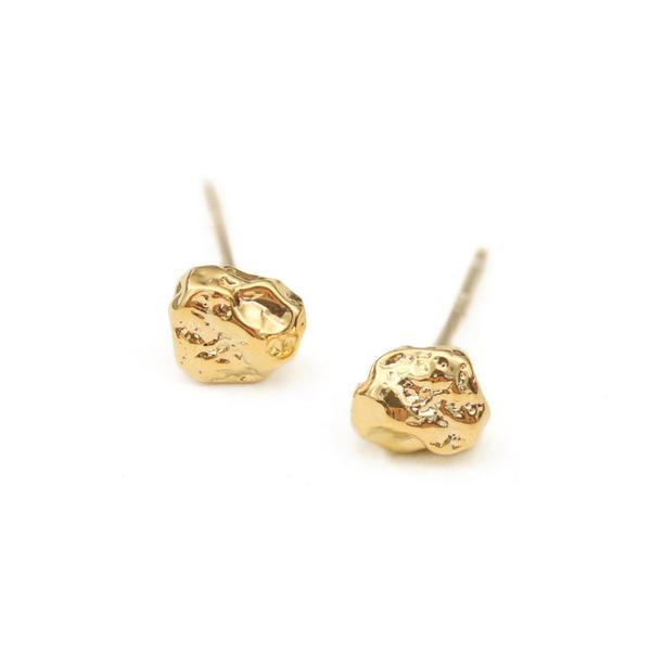 Chic Brass Women's Earrings