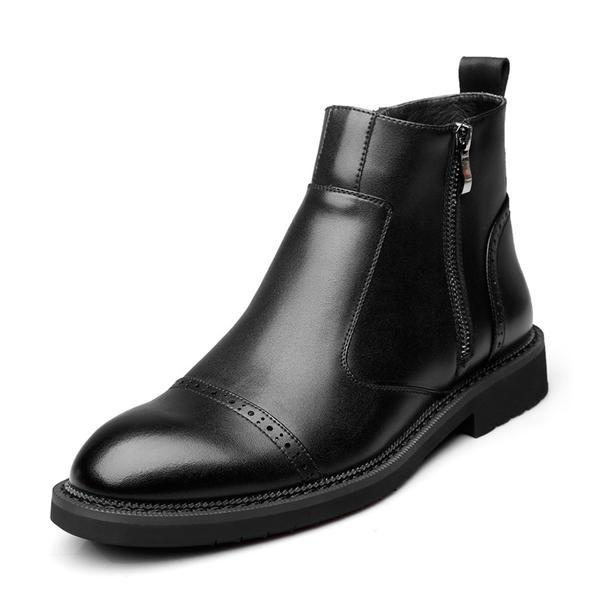 03ed16bf3 [US$ 49.99] Chukka Avslappet Microfiber Lær Menn Boots til herre - VeryVoga