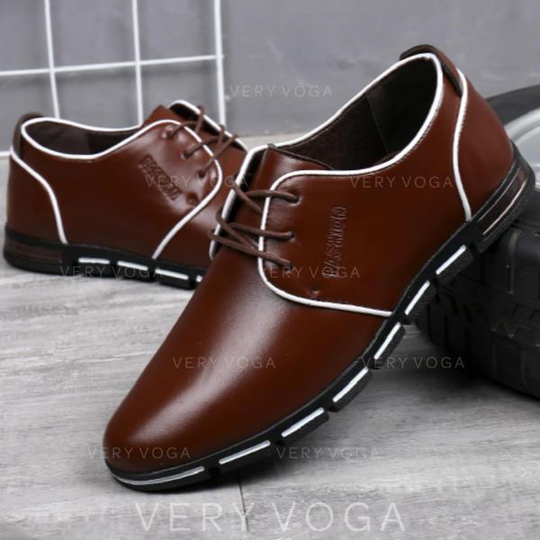 šněrovací Společenské boty Práce Mikrovlákno Kůže Pánské Pánská obuv Oxford 03c9b89885