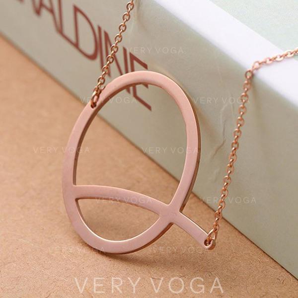 Unique Alloy Unisex Necklaces