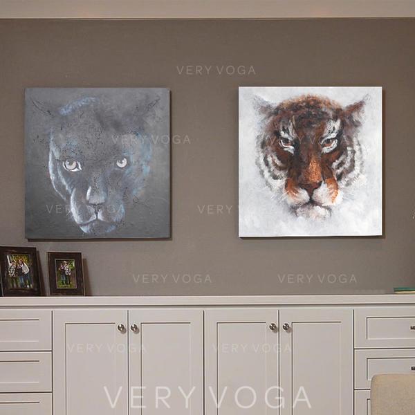 Modern Téglalap Állati festmények