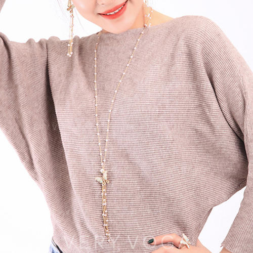 Shining Alloy With Imitation Pearl Women's Necklaces