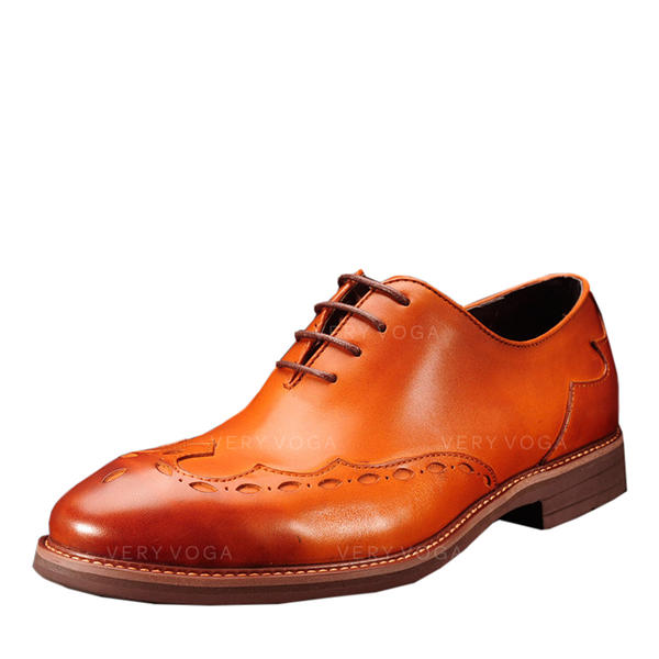 8c8d8a268e0e Mænd ægte læder Blondér Pæne sko Oxfords til Herrer (259175566 ...