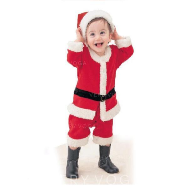 Різдво щасливого Різдва Санта Бавовна Різдвяні прикраси Набір з 4