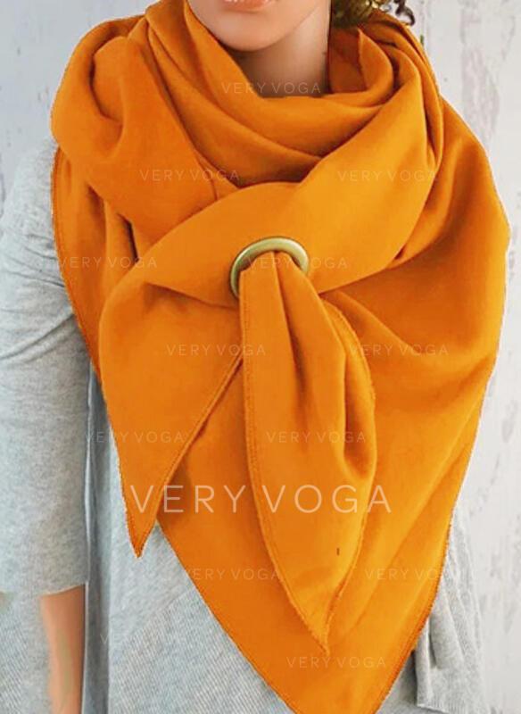 Color sólido moda/simple Bufanda