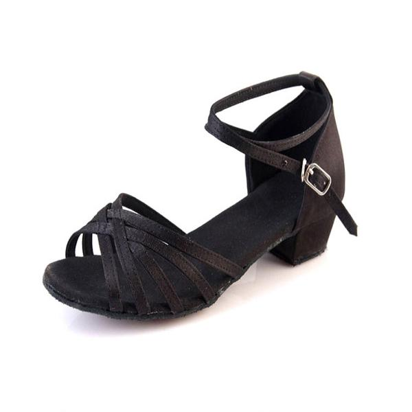 Women's Latin Heels Leatherette With Buckle Latin