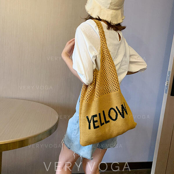 Elegant/Vintga/Braided/Super Convenient Hobo Bags