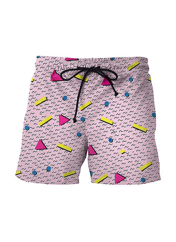 Heren Dot Board Shorts Zwempak