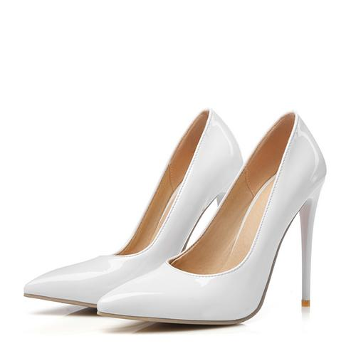 Women's Patent Leather Stiletto Heel Pumps shoes