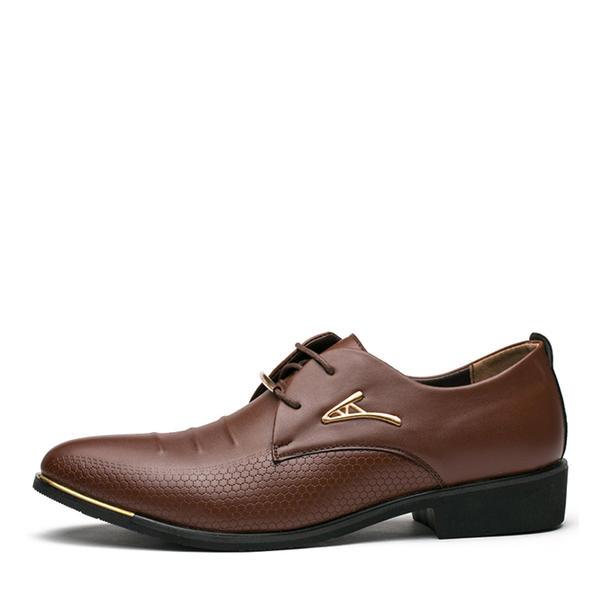 a0a3a41c8cc5 Blondér Pæne sko Arbejde Kunstlæder Mænd Oxfords til Herrer ...