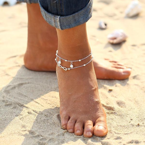 Exquisite Alloy Anklets
