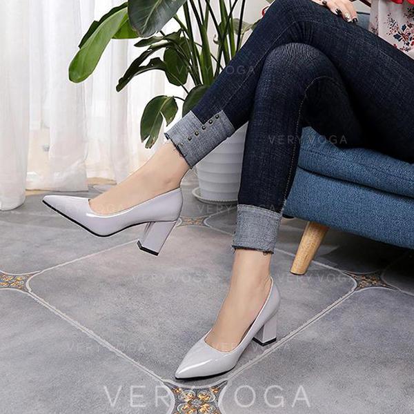 Женский PU Толстый каблук Насосы с другие обувь