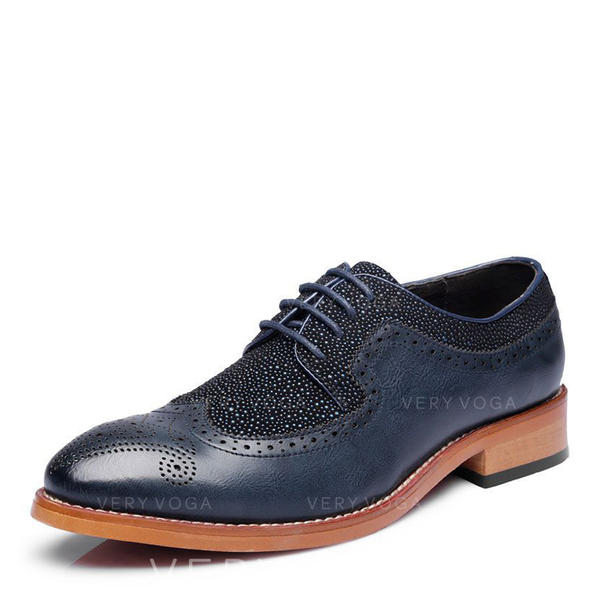 šněrovací Brogue Společenské boty Mikrovlákno Kůže Pánské Pánská obuv Oxford 4639f4bb6b