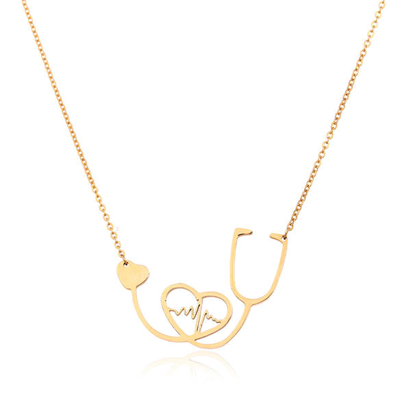 Lovely Heart Shaped Alloy Women's Necklaces