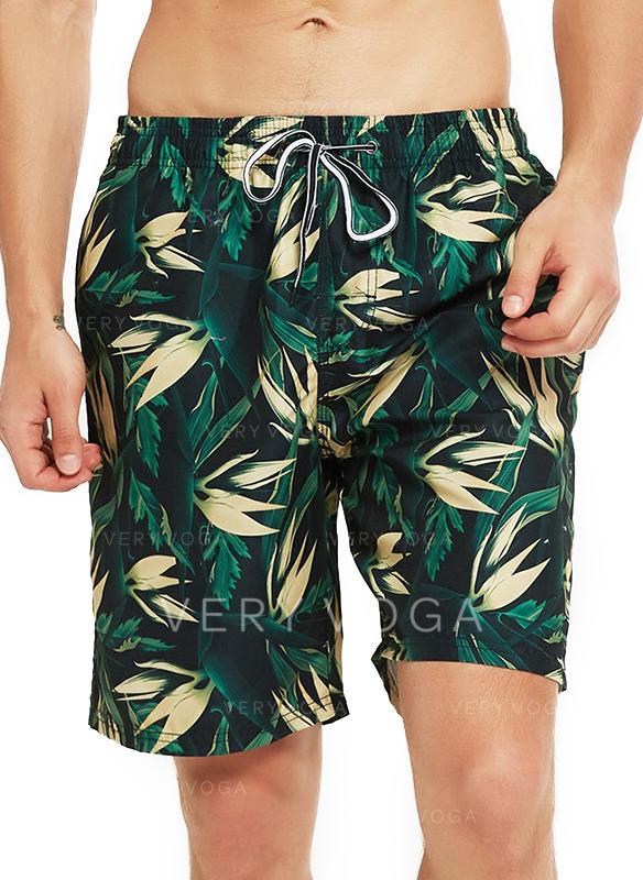 Men's Leaves Hawaiian Board Shorts