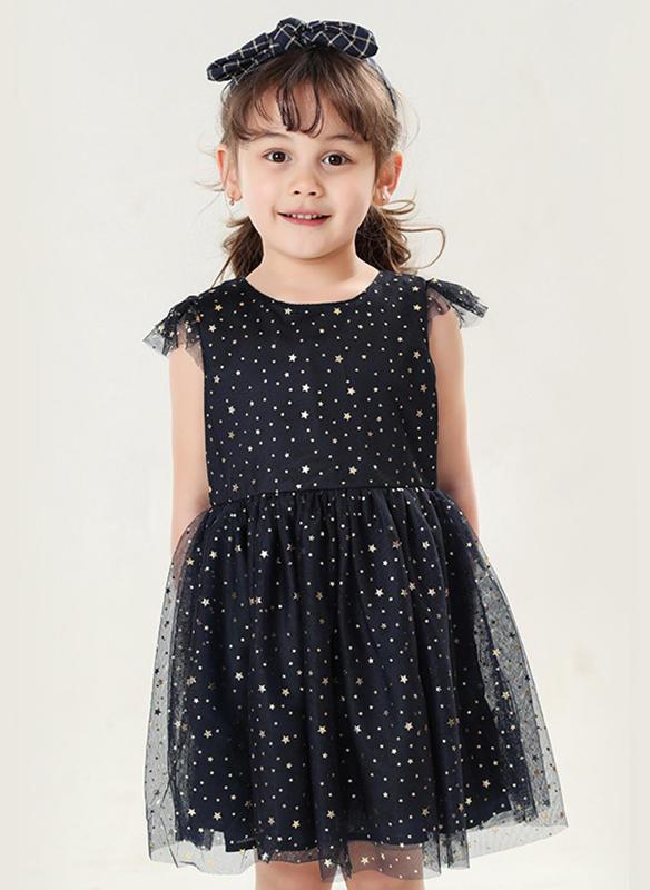 6e35ea7bbf7 Κορίτσια Στρογγυλός λαιμός Τυπώνω Ανέμελος Χαριτωμένος Φόρεμα ...