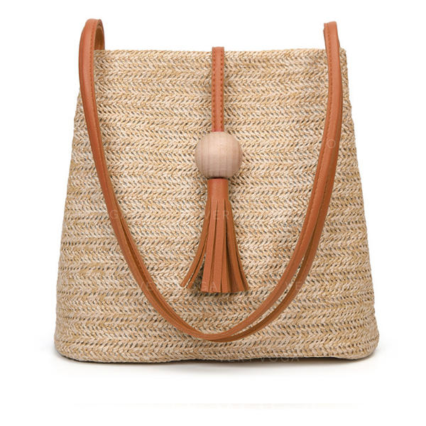 Elegant/Braided Straw Crossbody Bags/Shoulder Bags/Beach Bags/Bucket Bags