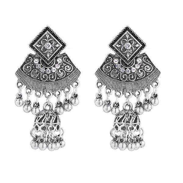 Style Vintage Alliage Femmes Boucles d'oreilles