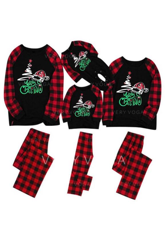 Пліда Лист Для сім'ї Різдвяні піжами