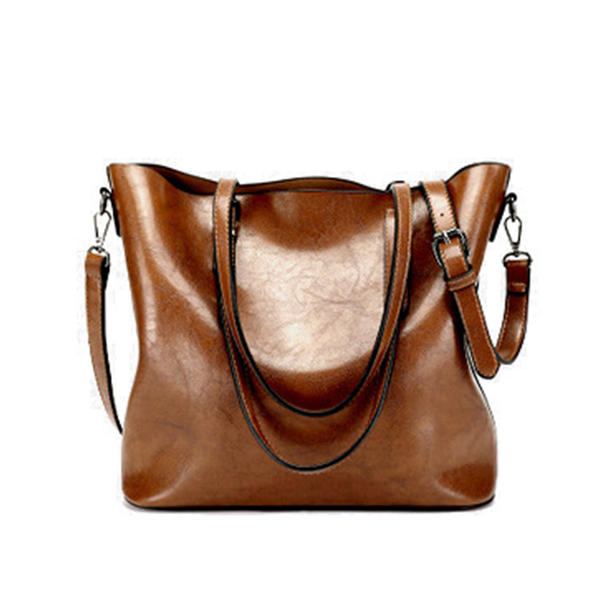 Elegant/Solid Color Genuine leather Tote Bags/Crossbody Bags/Shoulder Bags