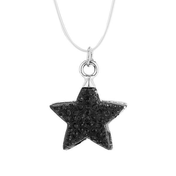 Yıldız Şekilli alaşım Taslar Ile Yapay elmas Kadın Salkım (Tek parça Satılan)