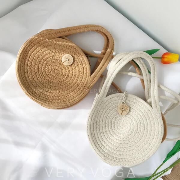 Klasik/Retro/Bohem tarzı/şeritlenmiş Bez Çantalar/Atlet çantaları/Omuz çantaları/Plaj Çantaları