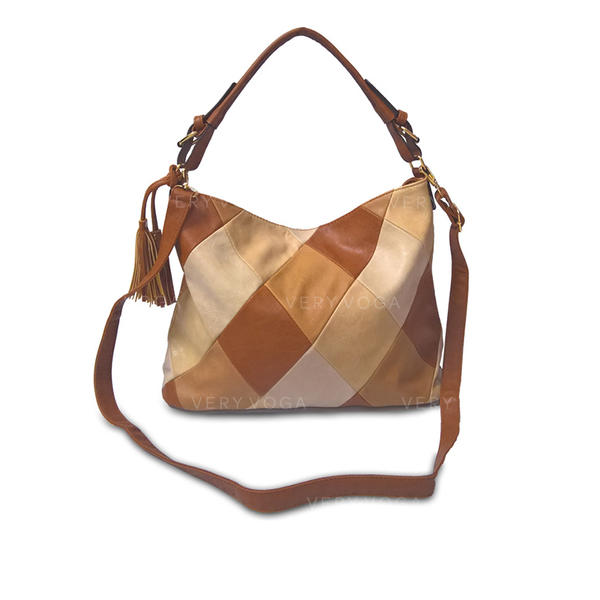 Elegant/Fashionable/Splice Color Tote Bags/Crossbody Bags/Shoulder Bags