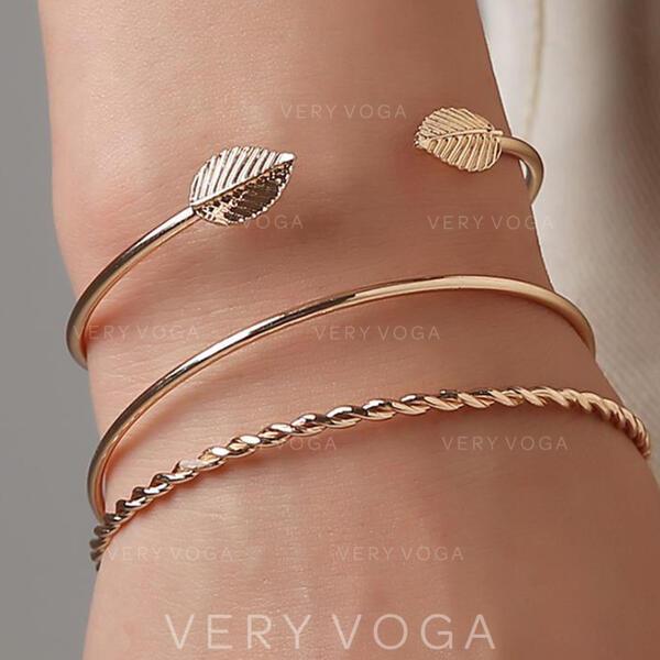 Legering Sieraden Sets Armbanden (Set van 3)
