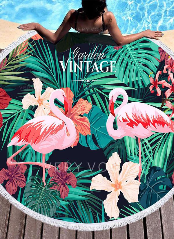 Floral/Animal fashion/fresh Beach Towel