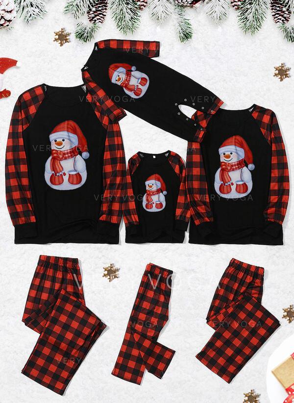 Plaid Family Matching Christmas Pajamas (1031340385)
