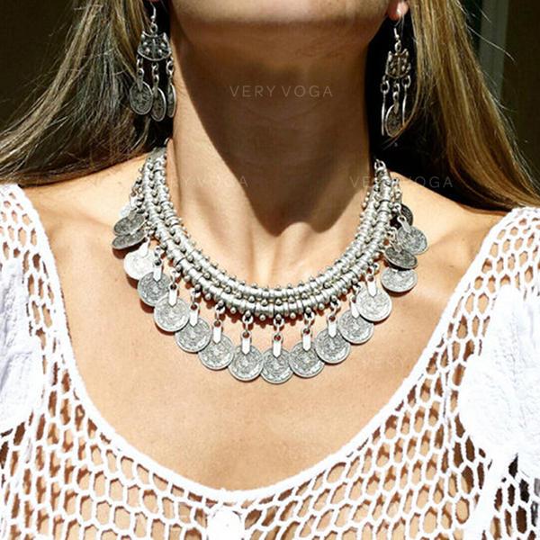 Modern Exotisk Snygg Legering Kvinnor Halsband