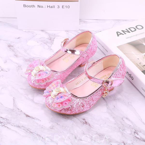 f2b36c20234 [US$ 22.99] Λείαντο Στρογγυλά παπούτσια Κλειστά παπούτσια Κορίτσι  λουλουδιών Με Bowknot - ...