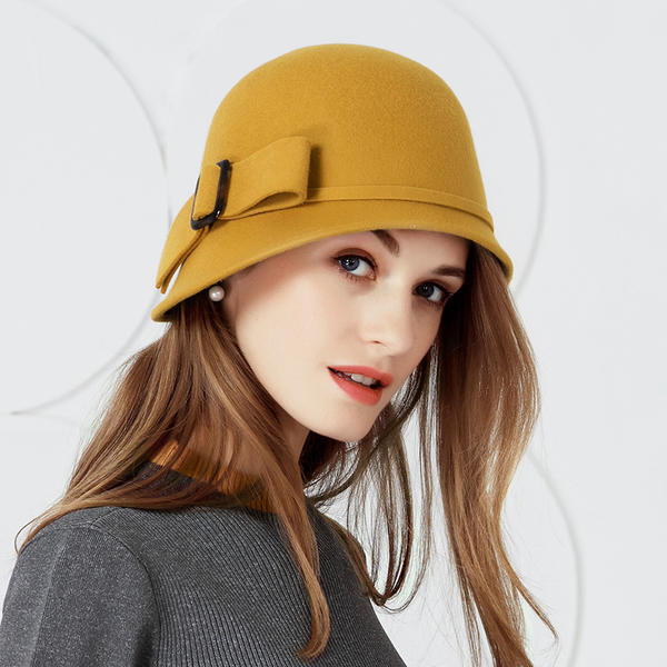 f65bd08fd [US$ 23.99] Ladies' Beautiful Wool With Bowknot Bowler/Cloche Hats -  VeryVoga