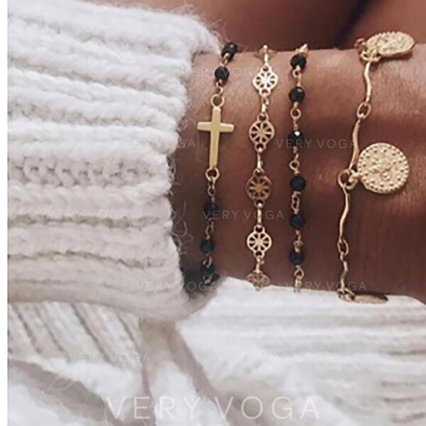 Alloy Jewelry Sets Bracelets (Set of 4)