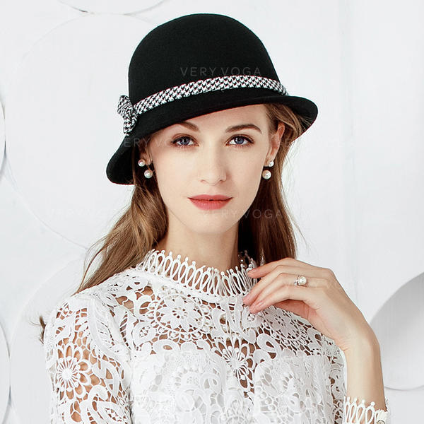 685e0dad1 [US$ 24.99] Ladies' Elegant/Unique Wool With Bowknot Bowler/Cloche Hats -  VeryVoga