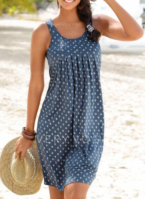 Dot U-Neck Vintage Fresh Cover-ups Swimsuits