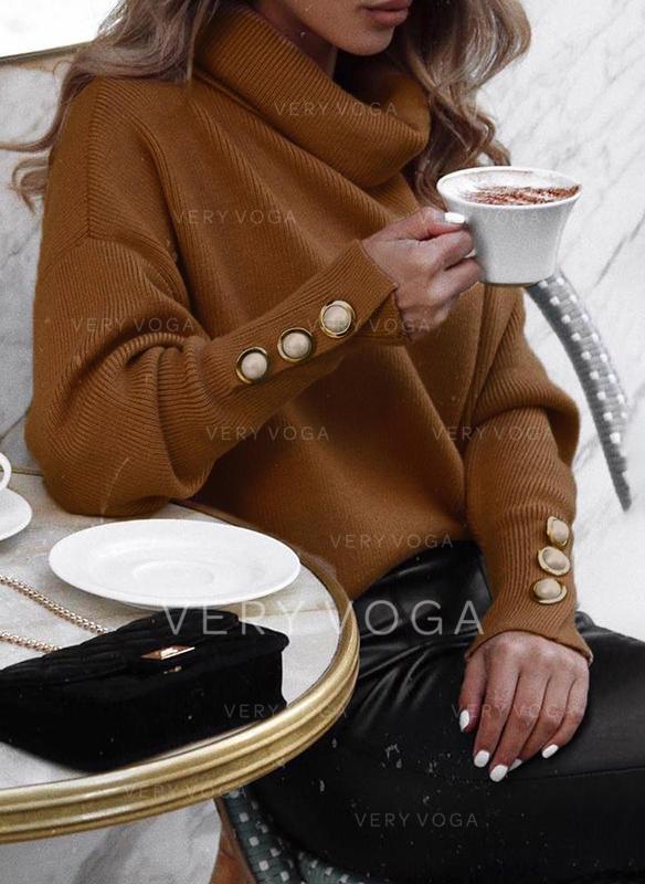 Egyszínű Πεδιάδα Garbó πουλόβερ