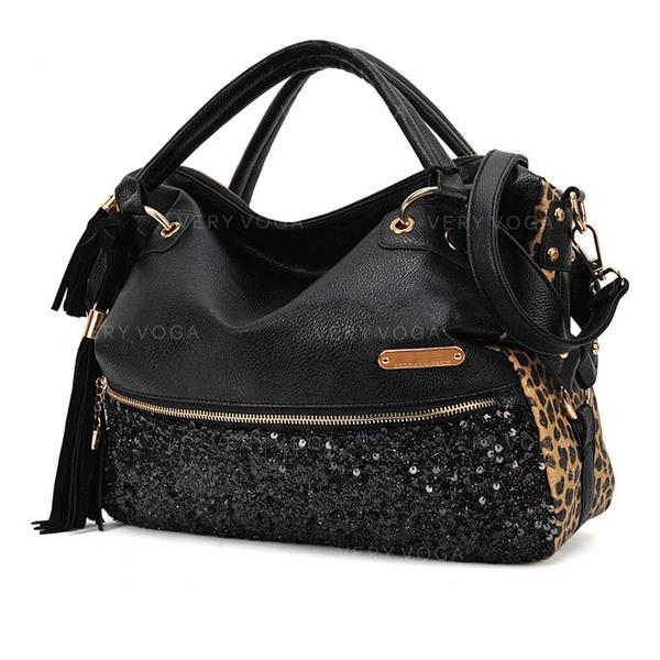 Модно/Блискучий/Досить Сатчел/Сумки через плече/Плечові сумки/Бостонські сумки