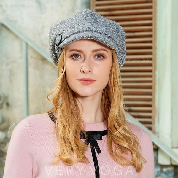 Damen Elegant/Einfache/Fantasie Polyester Schlapphut