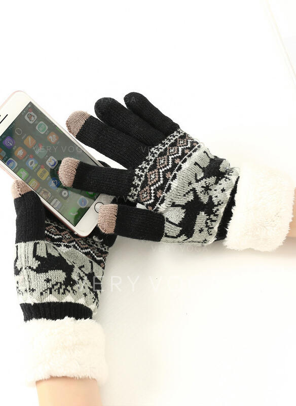 Christmas/Animal Print Protective/Comfortable/Christmas Gloves