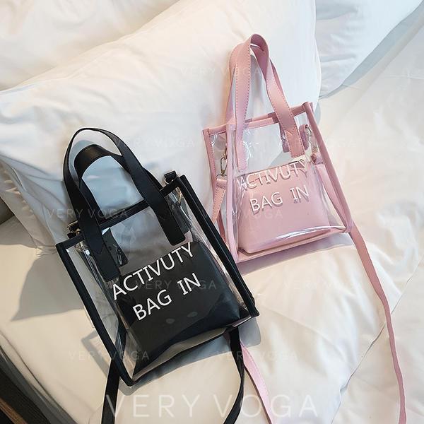 Transparent PVC Tote Bags/Shoulder Bags