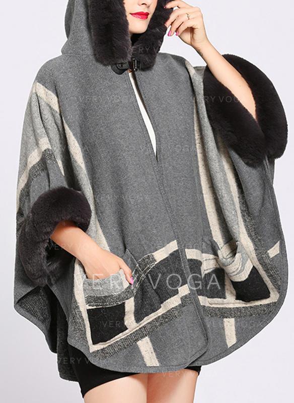 365b8f899bb Retro Vintage Cold weather Poncho (204189041) - Scarves   Ponchos ...