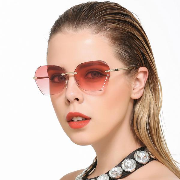 53100569d UV400/Gradiente Elegante Clássico Chic Oculos de sol (201229462 ...