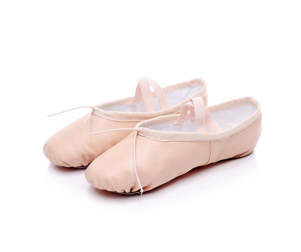 8cb96716d58 Για Γυναίκες Δερματίνη Flats Μπαλέτο Παπούτσια Χορού (053164120 ...