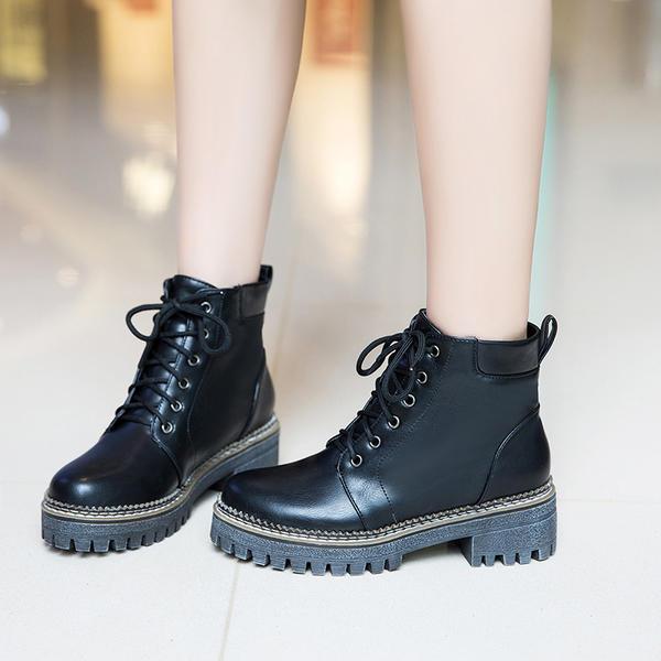Women's Leatherette Low Heel Flats