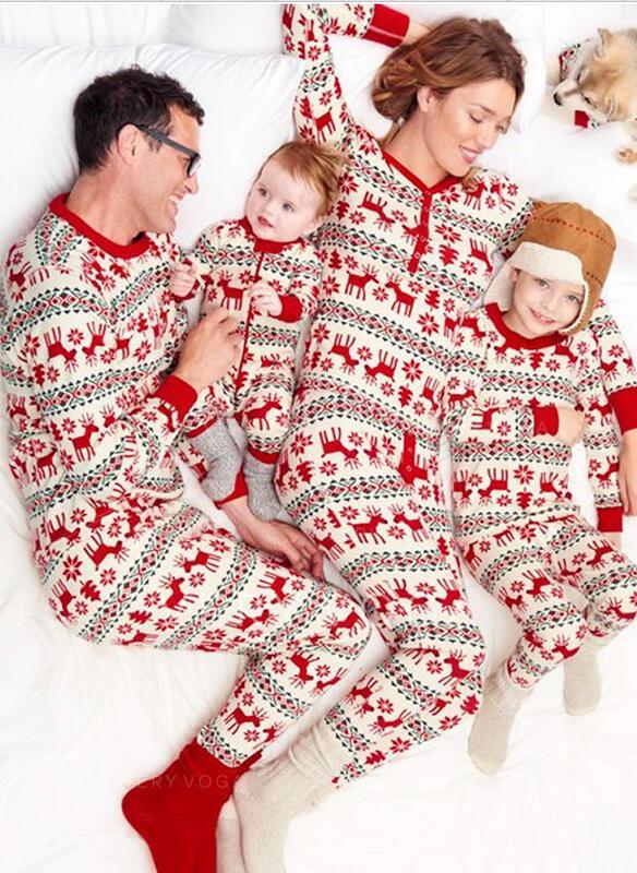 9e321c9675 Reindeer Family Matching Christmas Pajamas (1031245841) - Matching ...