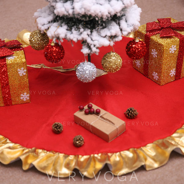 Merry Christmas Non-Woven Fabric Christmas Tree Skirt