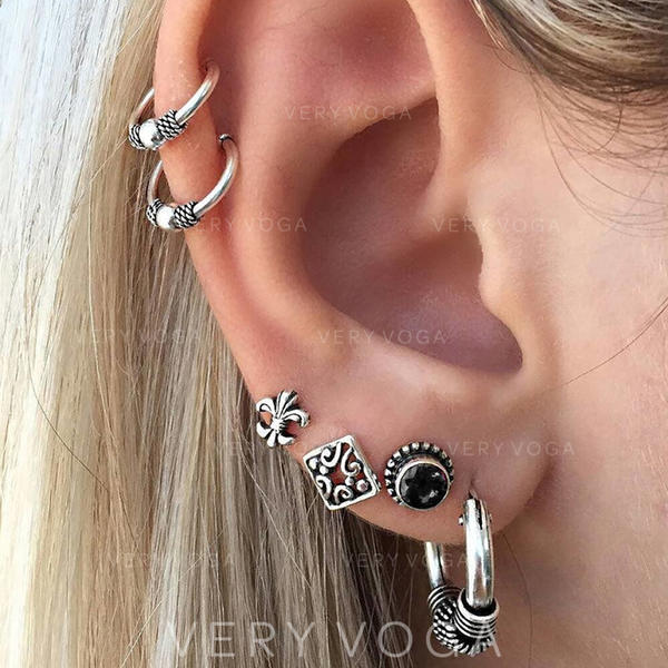 Exquisite Sexy Tibetan Silver Earrings