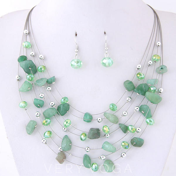 Fashionable Shell Alloy Women's Jewelry Sets (Set of 2)